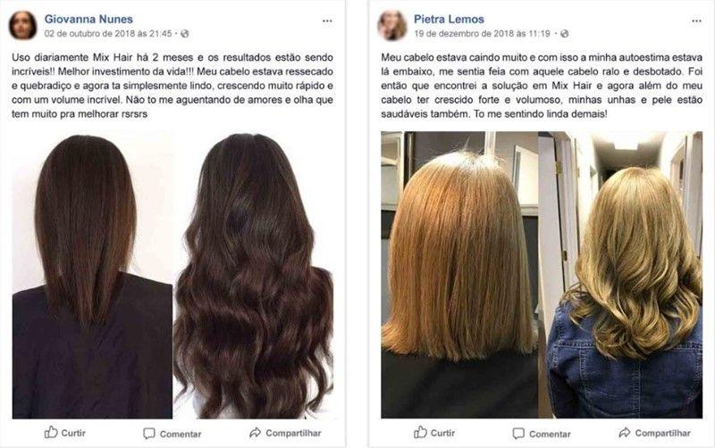 Mix Hair Depoimentos
